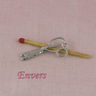 Breloque Ciseaux couture miniature