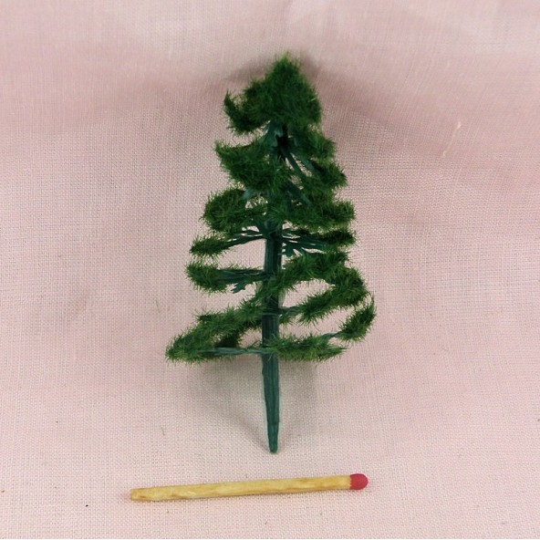 Arbre sapin miniature jardin maison poup e 13 cm for Sapin d ornement jardin
