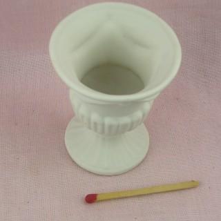 Vasque miniature fleurs Plante maison poupée,