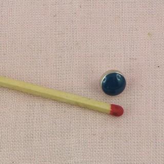 Bouton bottine métal àpied 7 mm.