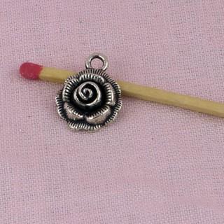 Breloque rose miniature
