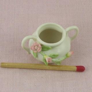 Cache pot miniature décoration maison poupée,