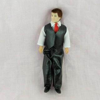 Muñeca miniatura 1/12 hombre