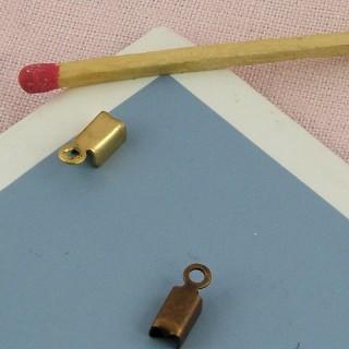 Attache fils apprêt bijoux fermoir 1 cm.