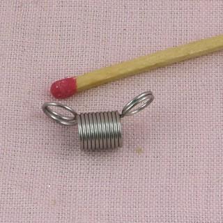 Embout bijoux ressort stop perles 8 mm,
