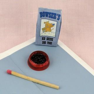Aliments chien miniature maison poupee