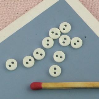 Petits Boutons mercerie 5 mm.