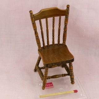 Chaise miniature maison de poupée