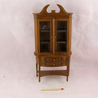 Mueble Escaparate miniatura casa muñeca