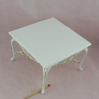 Table miniature maison de poupée