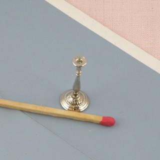 Bougeoir candelabre miniature table de nuit