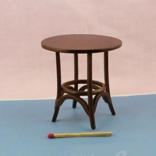 Table basse miniature maison poupée,