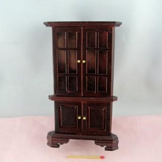 Meuble Encognure miniature maison poupée