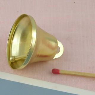 Cloche clochette miniature 4 cm.