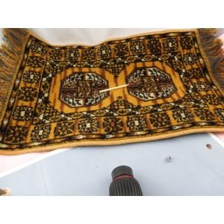 Tapis miniature maison poupée 22 cm
