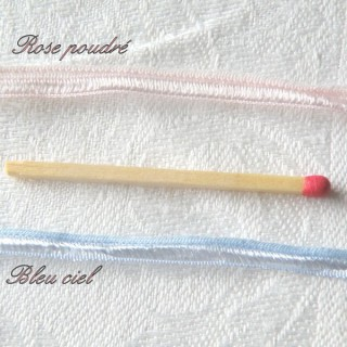 Ruban miniature poupée ajouré 5 mm