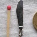 Couverts miniatures dinette breloque