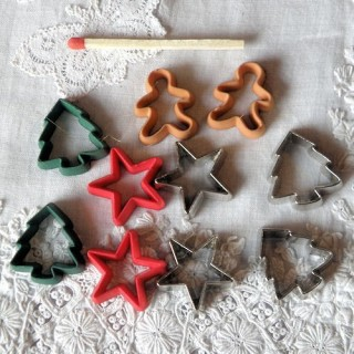Buttons,Christmas cookies cutters Dress it up