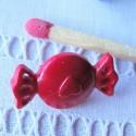 Boutons à pied bonbon 2 cm  par 10