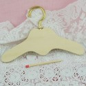 Hanger wood with heart 11 cms