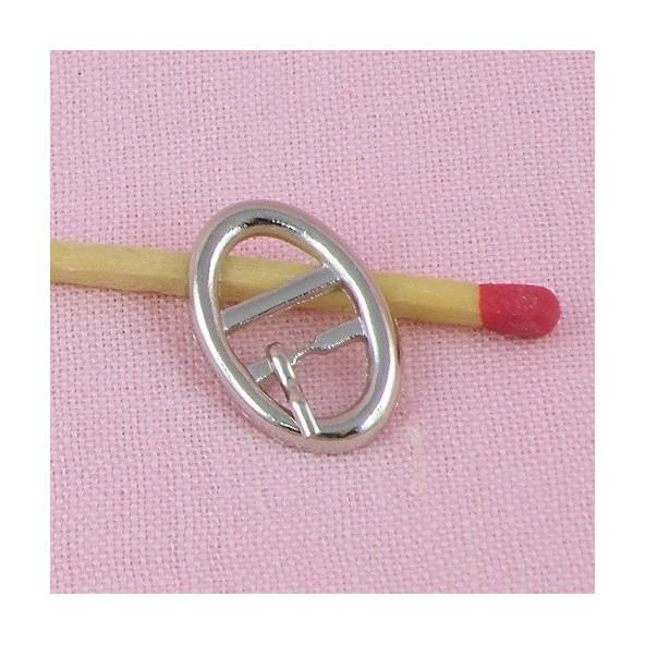 e39822c6d15c Boucle miniature ceinture ovale 2 cm Boucle ceinture ou chaussure m...