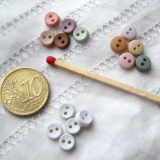 Buttons 6mm matt