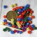 Boutons coeur carré fleur minuscules Dress it up