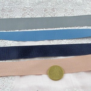 Braid gimp grosgrain ribbon, 25 mms,
