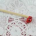 Grelot miniature rouge 6 mm