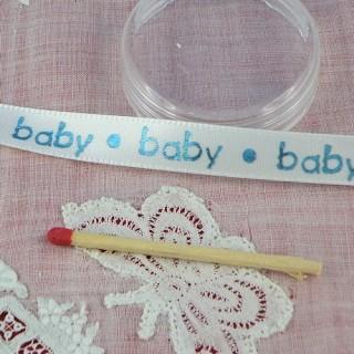 Ruban baby brillant 1cm