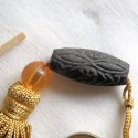 Mini tassel, home decor, key decoration 11,5 cms.