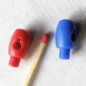 Fermoir blocage lacet poupée 14 mm