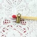 Attache fils apprêt bijoux fermoir 7 mm.