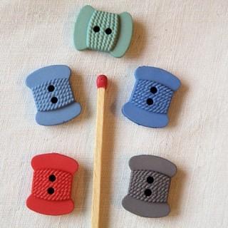 Botones de bobina de alambre COUTURE 1,8 cm.