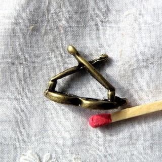 MiniaturAnhänger Brillen Puppe