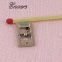 Boucle miniature rectangulaire avec ardillon, 17 mm.