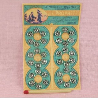 Carte Le Prophète 36 boutons pression 6mm.
