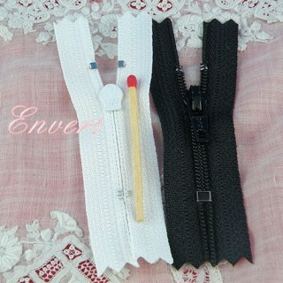 Tiny zipper for doll 5 cms