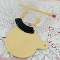 Miniature dollhouse Cutting board 9 mms