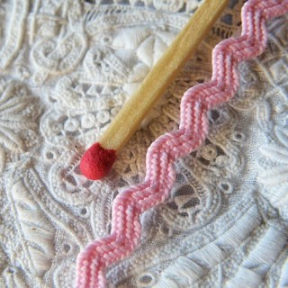 Galon croquet serpentine zig zag ric rac 5 mm.