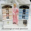 Armoire miniature maison poupée