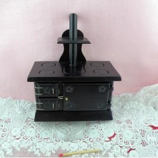 Cocina horno miniatura casa muñeca 10 cm.
