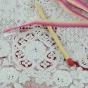 Color ribbon degraded to embroider