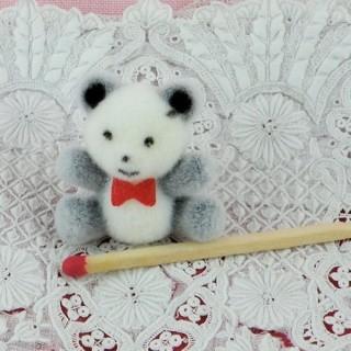 Teddy zweifarbiger MiniaturBärenjunge gesetzt 26 mm