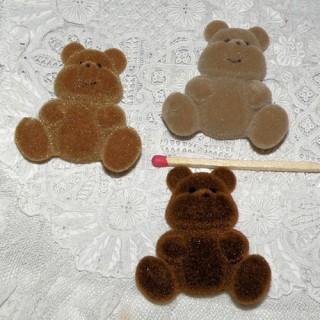 Teddy kleiner Bärenjunge flacher Rücken 4 cm.