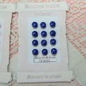 Bright shank buttons 4 mms Card