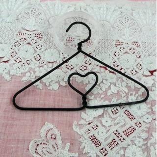Hierro colgante de corazón en miniatura 10 cm