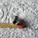 Embout lacet bijoux ressort appret 8 mm,