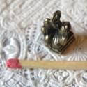Breloque Gramophone miniature poupée