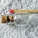 Bouteille miniature en verre fiole